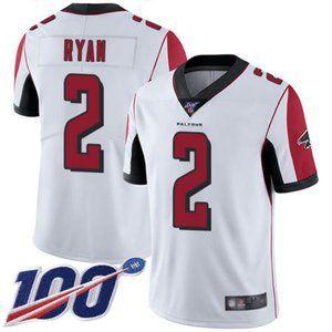 Falcons Matt Ryan 100th Season Jersey 1